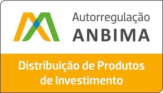 Selo Distribuicao Produtos Investimento Colorido